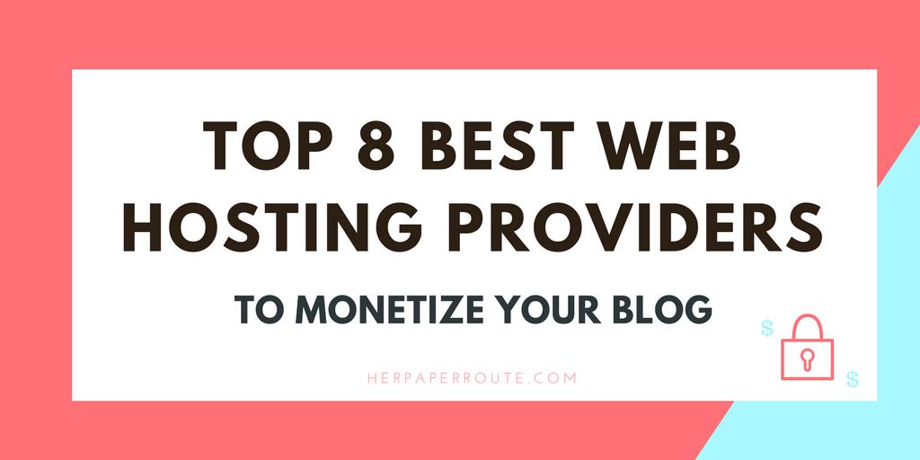 Best web hosting options