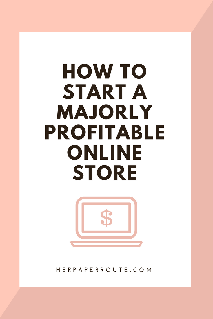 How to start a thrift shop online
