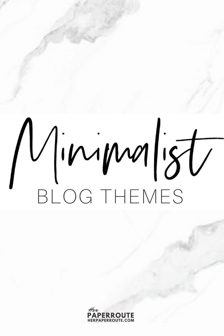 Top Responsive Clean Minimalist WordPress Themes