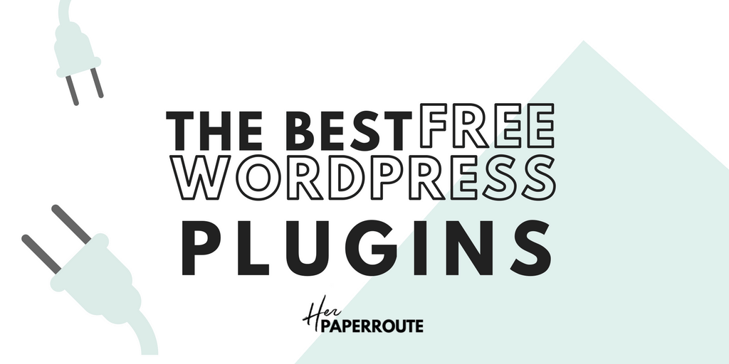 The best free WordPress Plugins For Your Blog - Styled Stock Photos For Your Blog - Make Money Blogging - Passive Income - Affiliates - Content - Social Media - Management - SEO - Promote | www.herpaperroute.com