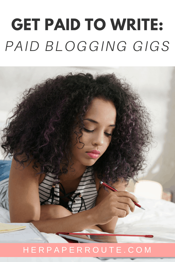Get Paid To Write For These Companies