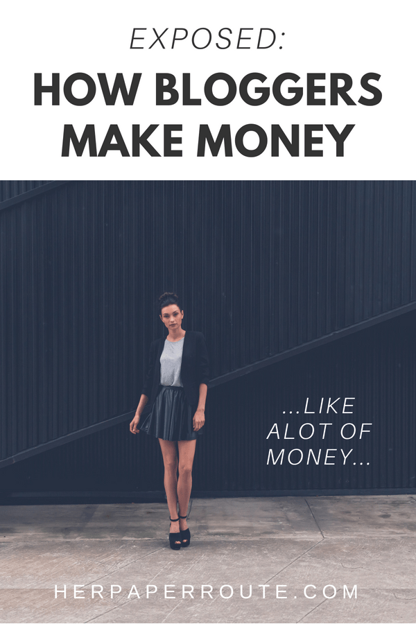 How To Make Money Blogging Actually!