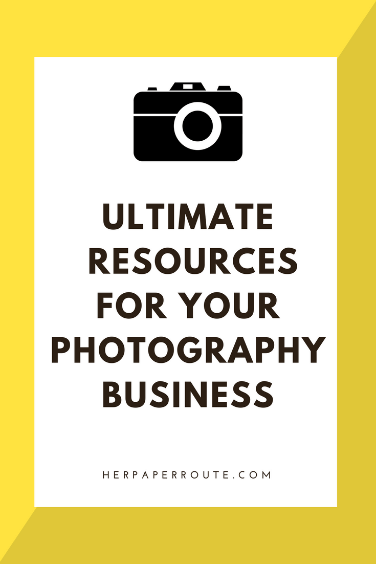 Ultimate Photography Resources For Your Creative Biz
