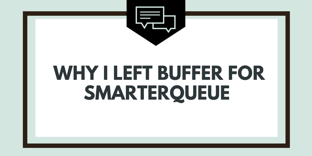 Why I Left Buffer For SmarterQueue - And A Warning You Need To Know About It- affiliate links - Get More Pinterest Traffic - Pinterest Training - SmarterQueue - The best social media content scheduling app | www.herpaperroute.com
