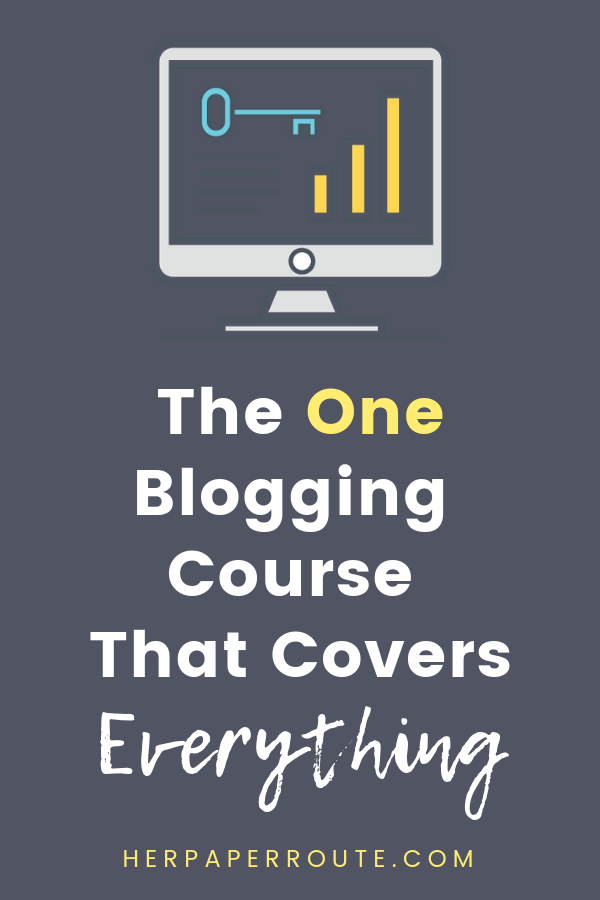 The best blogging course, one blogging course that covers everything, Be Your Own Blog Boss course from HerPaperRoute, free blogging courses, pinterest marketing course, Blog Boss, Profitable blogging training, Complete Blogging Business- Everything You Need To Know To Create, Run, Market And Monetize A Blog Online courses to learn blogging, learn affiliat emarketing and more | herpaperroute.com