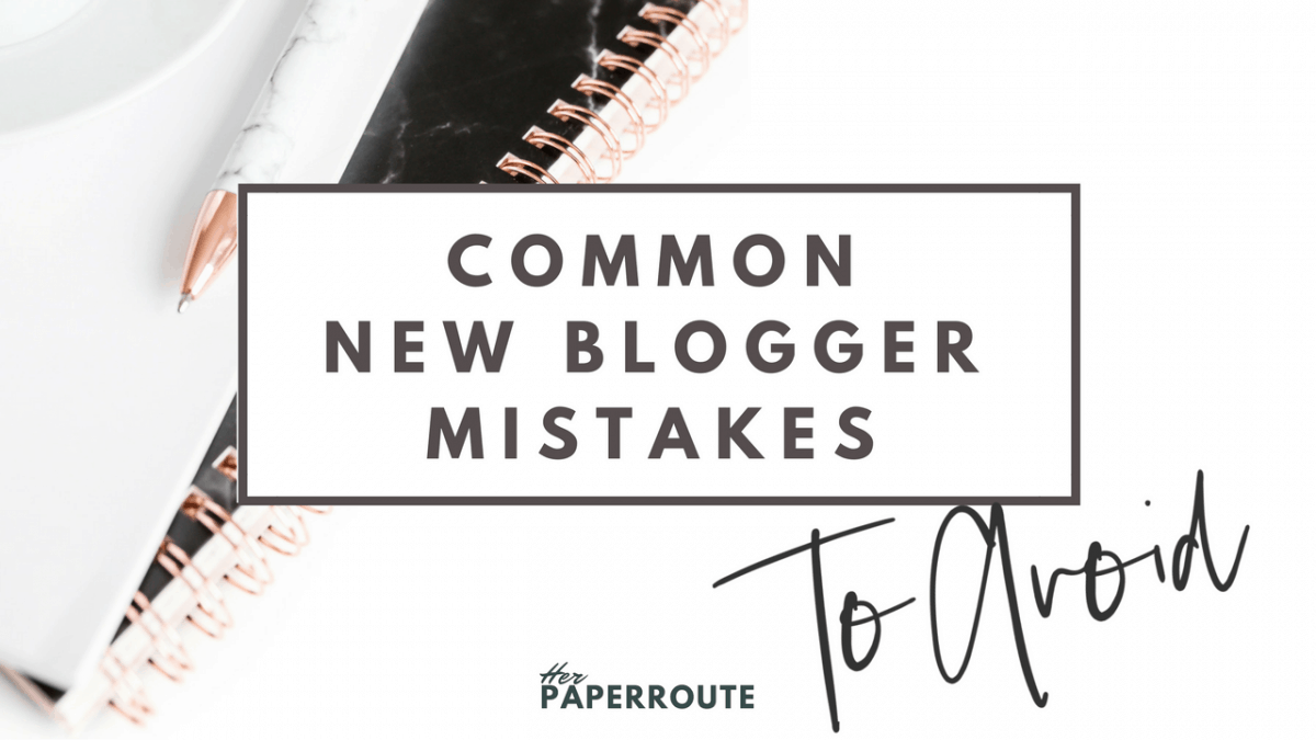New blogger mistakes to avoid! Blogging tips starting a blog how to write a blog post new blogger mistakes to avoid newbie mistakes blogging tips Dont Make These Common New Blogger Mistakes - Passive Income - Affiliates - Content - Social Media - Management - SEO - Promote | www.herpaperroute.com