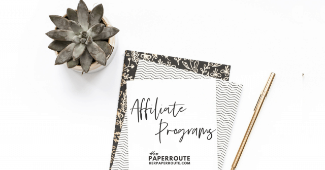 High Paying Affiliate Programs Bloggers Can Join - Make Money Blogging | www.herpaperroute.com