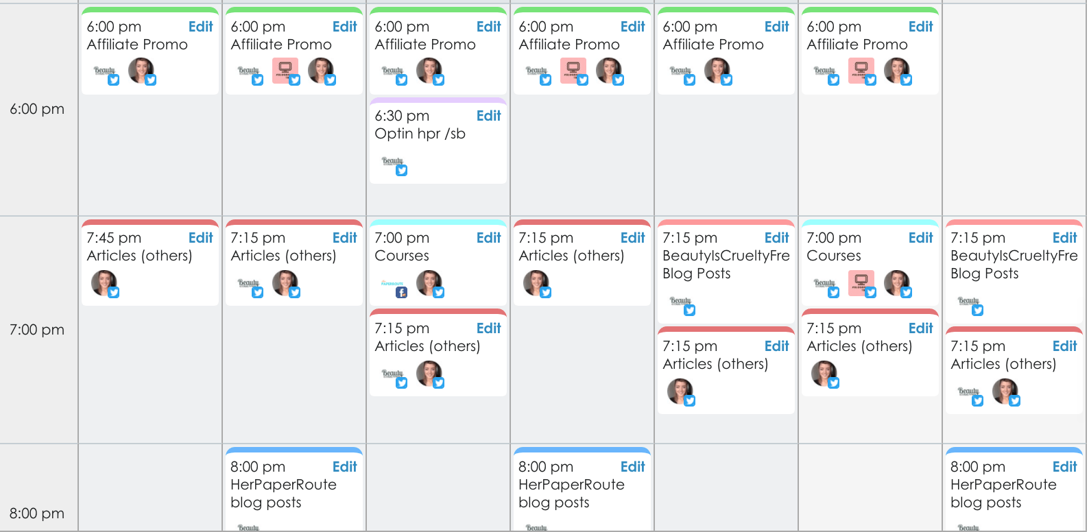 Smarterqueue social media schedule app affiliate blogging Why I Left Buffer For SmarterQueue - And A Warning You Need To Know About It- affiliate links - Get More Pinterest Traffic - Pinterest Training - SmarterQueue - The best social media content scheduling app | www.herpaperroute.com