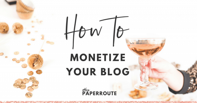 6 Ways To Monetize Your Blog