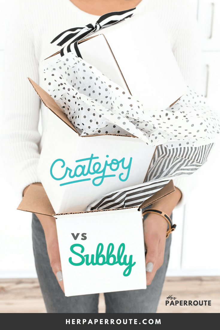 Cratejoy vs Subbly Subscription Box Review