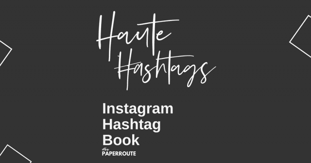 The Best Instagram Hashtags For Bloggers – Free eBook!