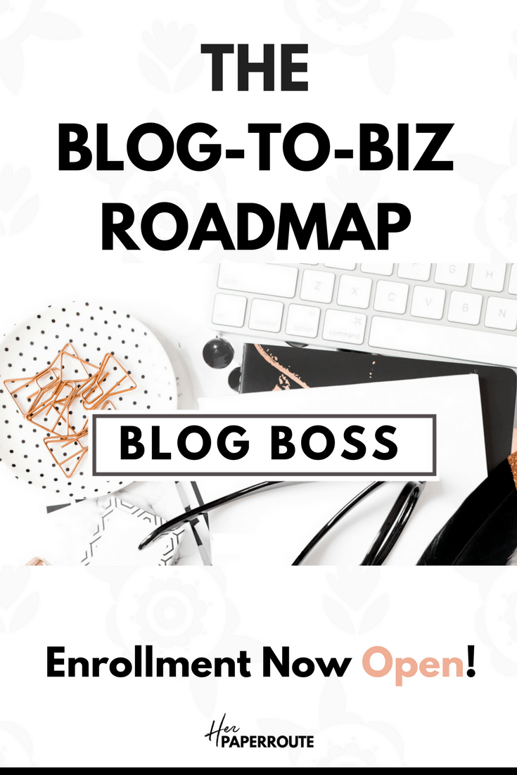 The best blogging course, one blogging course that covers everything, Be Your Own Blog Boss course from HerPaperRoute. #Freebloggingcourse #pinterestmarketing course #BlogBoss, Profitable blogging training, Complete Blogging Business - Everything You Need To Know To Create, Run, Market And Monetize A Blog Online courses to #learnblogging, learn #affiliatemarketing and more |@herpaperroute herpaperroute.com