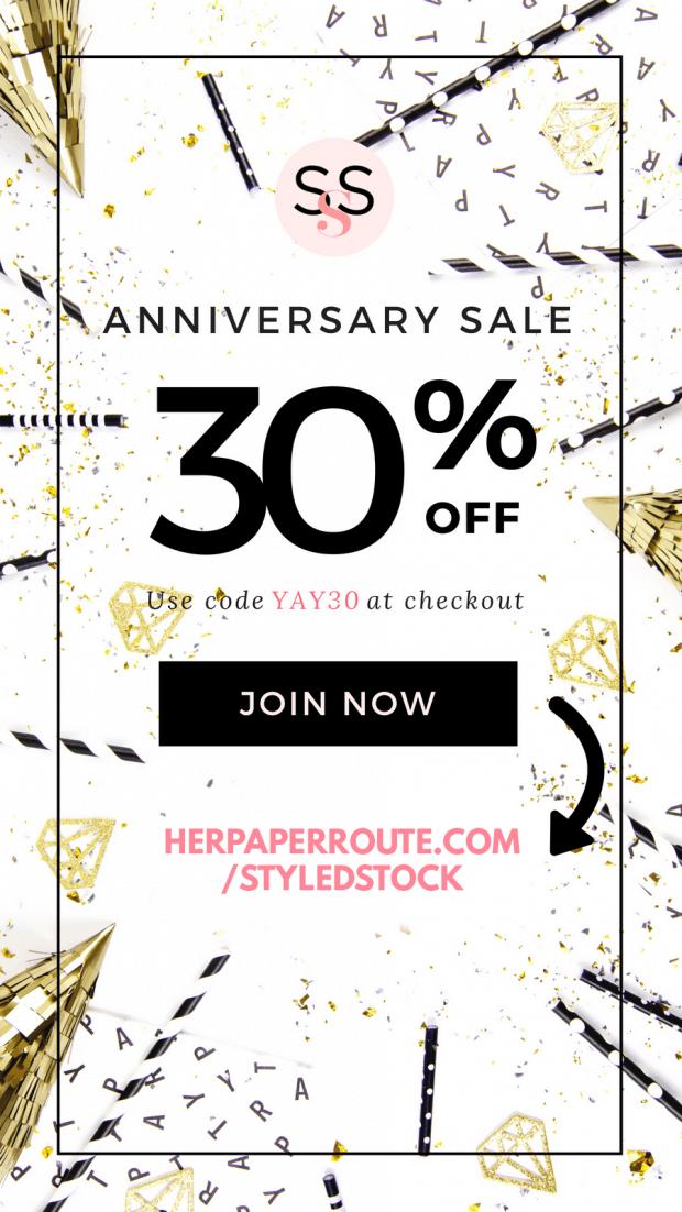 Styled Stock Society Membership Sale