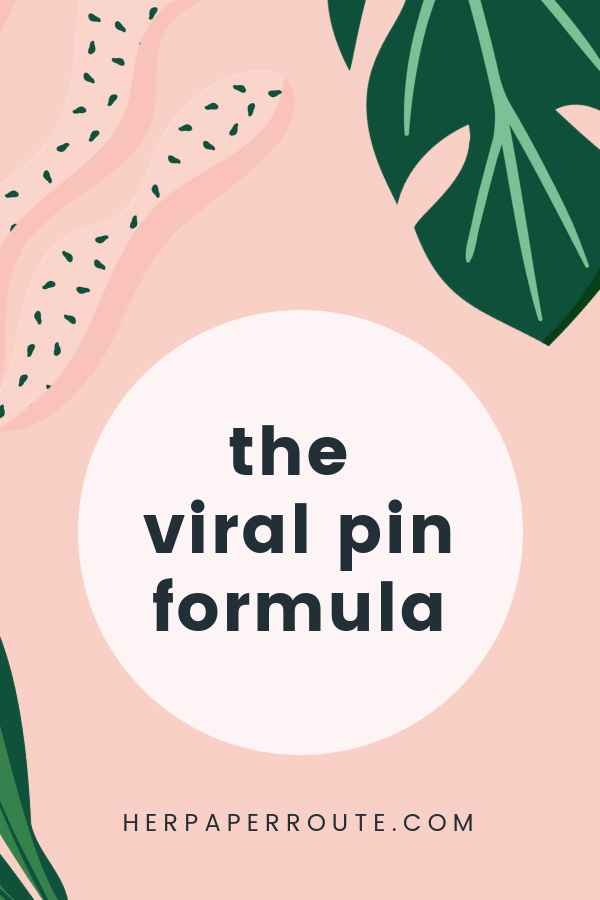 the viral pin formula how to make pins go viral make viral pins grow business with pinterest marketing tips Pinterest Images Hack Proven To Make Pins Go Viral, go viral on pinterest, marketing tips, pinterest tips, social media tips, how to make viral pins - herpaperroute.com