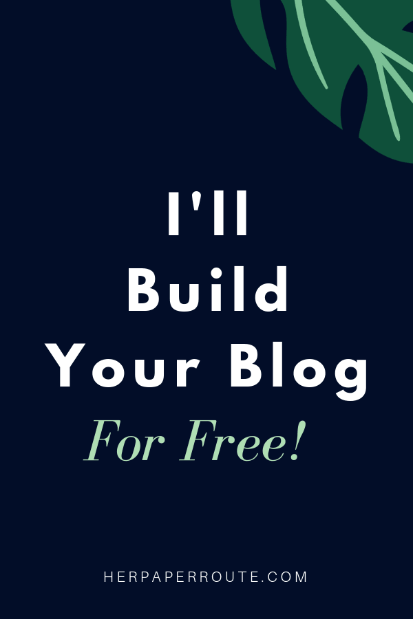 Get a free blog start a blog for free, website in a box, free blog install monetized blog for free herpaperroute.com