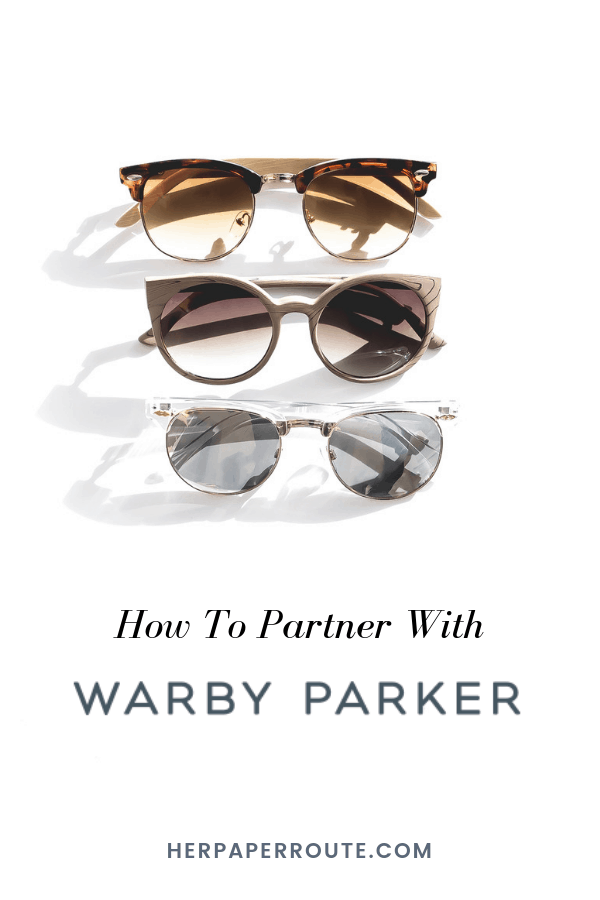 Join the Warby Parker #affiliateprogram and earn commission promoting #designer eyewear at affordable prices! #WarbyParker #affiliateprograms #bloggerswanted #creative #makemoneyblogging #affiliatemarketing HerPaperRoute.com