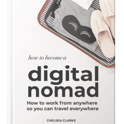 How to become a digital nomad - Free book! #digitalnomad #workfromanywhere #SAHM #workonline herpaperroute.com